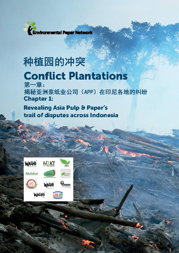 《种植园冲突(一)》(Conflict Plantations)中文摘要